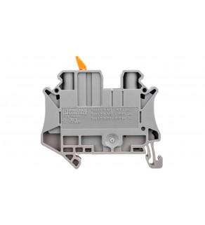 Złączka przelotowa 2-przewodowa z odłącznikiem nożowym 6mm2 szara UT 6-MTL 3046145