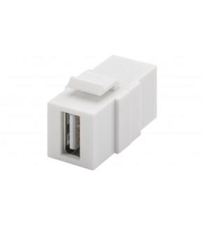 Keystone moduł USB 2.0 - gniazdo USB-A   gniazdo USB-A 79909