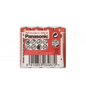 Bateria cynkowo-węglowa R6 / AA 1,5V /foliowane 4szt.