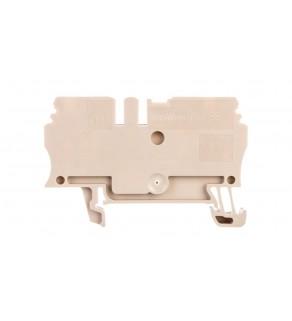 Złączka ZDU 2.5 24A 2,5mm2 ciemnobeżowa 1608510000