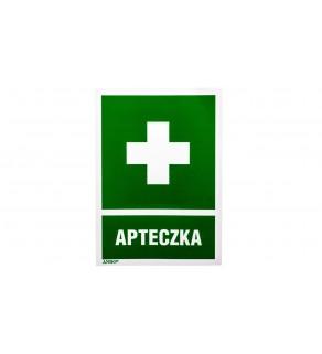 Tabliczka ostrzegawcza /Apteczka 100x145/ 8I/1/H1/F