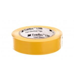Taśma elektroizolacyjna Temflex 1300 żółta 15mmx10m DE272962700/7000062611