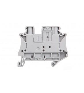 Złączka szynowa rozłączalna 2-przewodowa 6mm2 szara UT 6-TG 3046485