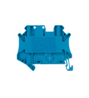 Złączka szynowa rozłączalna 2-przewodowa 2,5mm2 niebieska UT 2,5-TG-P/P BU 3046582
