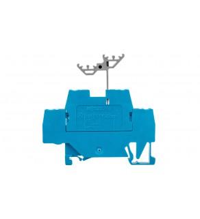 Złączka szynowa 2-piętrowa L / L 2,5mm2 niebieska 280-529