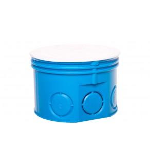 Puszka podtynkowa fi 70 / plytka Z70K niebieska 34036203
