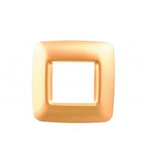 ECO60 Ramka pojedyncza pozioma złota GW34862 ELIT00589