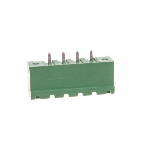 Gniazdo pinowe 4P 320V 8A zielone MSTBV 2,5/ 4-GF-5,08 1777099