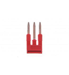 Mostek wtykany 3-biegunowy czerwony FBS 3-4 3030129