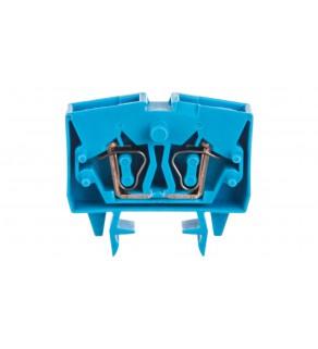 Złączka 2-przewodowa 2,5mm2 niebieska 264-704