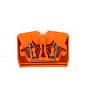 Złączka wewnętrzna 2-przew. 2,5mm2 pomarańczowa 264-326