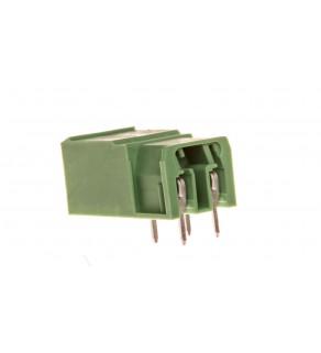 Gniazdo pinowe 2P 630V 20A zielone PC 4/ 2-G-7,62 1804797