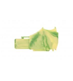 Moduł początkowy gniazda X-COMS żółto-zielony 2020-167