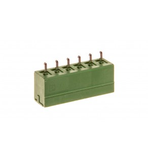 Gniazdo wtykowe 6P 160V 8A zielone MCV 1,5/ 6-G-3,81 1803468