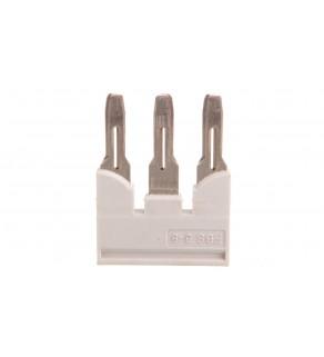 Mostek wtykany 3-biegunowy 8,2mm szary FBS 3-8 GY 3032622