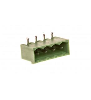 Gniazdo pinowe 4P 320V 12A zielone MSTBA 2,5/ 4-G 1757491