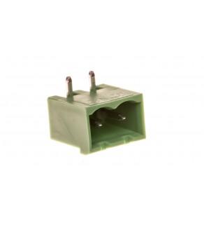 Gniazdo pinowe 2P 320V 12A zielone MSTBA 2,5/ 2-G 1757475