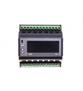 Miernik sieci 3-fazowej wej. I 1A/5A wej. U 3x30/400V zasilanie 85-253V AC 90-300V DC N43 12100P0
