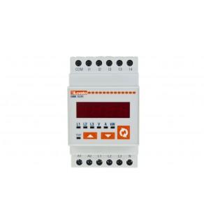 Miernik cyfrowy (woltomierz/amperomierz/watomierz) modułowy DMK75R1