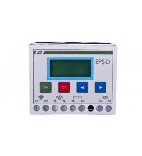 Mikroprocesorowy przekaźnik silnikowy do współpracy z przekładnikiem prądowym 5A EPS-D-5A