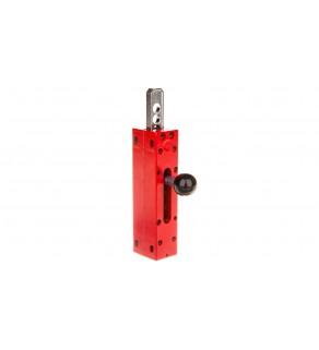 Zasuwka do drzwi przesuwnych model XCS-A,B,C,E czerwona XCSZ05