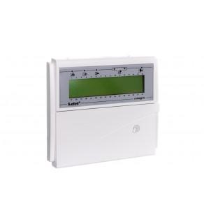 Manipulator LCD z czytnikiem zbliżeniowym /zielone podświetlenie/ INTEGRA INT-KLCDR-GR