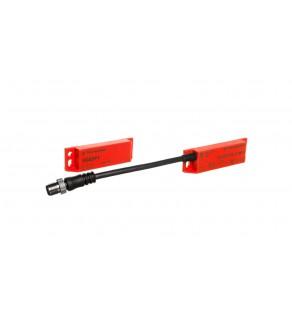 Wyłącznik krańcowy bezpieczeństwa 1Z 2R M12 z LED XCSDMP701L01M12