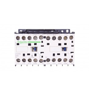 Stycznik nawrotny 6A 2,2kW 24V DC LP2K0601BD