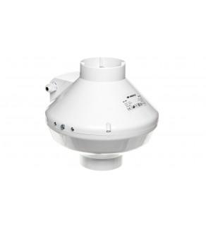 Wentylator kanałowy odśrodkowy fi 100 230V 80W 205m3/h 46dB biały VK100