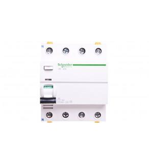 Wyłącznik różnicowoprądowy 4P 40A 0,1A typ A iID A9Z22440