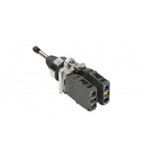 Manipulator czterokierunkowy 22mm 4Z z samopowrotem XD4PA24