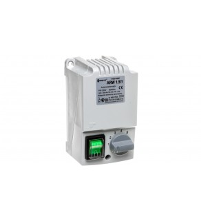Regulator prędkości obrotowej 1-fazowy ARW 1,5/1 230V 1,5A IP54 17886-9990