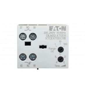 Elektroniczny moduł czasowy opoźnione załączanie 0,05-100s 1Z 1R DILM32-XTEE11(RAC240) 101442