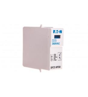Wkład ogranicznika przepięć C Typ 2 Typ 2 30kA 260V AC NPE SPCT2-NPE60 167617