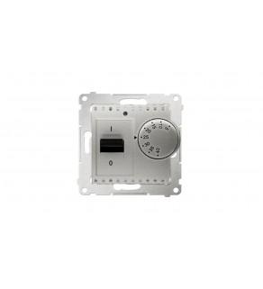 Simon 54 Regulator temperatury 5-40C IP20 srebrny mat DRT10W.02/43