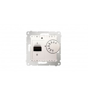 Simon 54 Regulator temperatury 16A 5-40C IP20 kremowy DRT10W.02/41