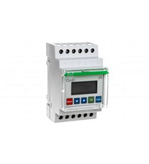 Licznik impulsów programowalny 24-264V AC/DC 1P 8A 8 cyfr modułowy CLI-01