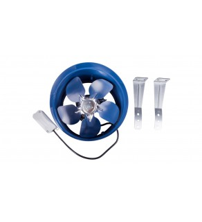 Wentylator osiowy fi 200 230V 43W 32dB 405m3/h VKOM200