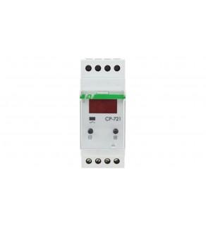 Przekaźnik kontroli napięcia 1-fazowy programowalny 1Z 16A 150-450V AC wyświetlacz LED CP-721