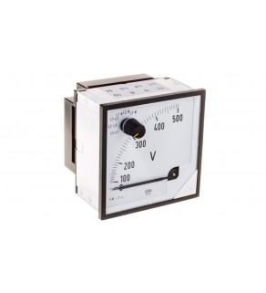 Woltomierz z przełącznikiem N E615 500V pozycja pracy C3 K 90 st. bez atestu KJ EP29NE6150000