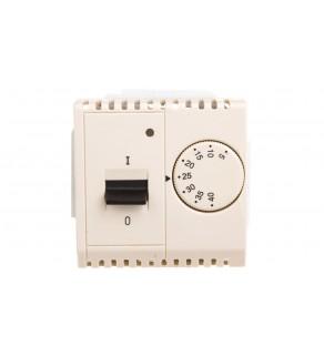 Simon Basic Regulator temperatury z czujnikiem wewnętrznym 5-40C beżowy BMRT10w.02/12
