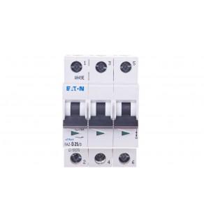 Wyłącznik nadprądowy 3P D 25A 15kA AC FAZ D25/3 278898