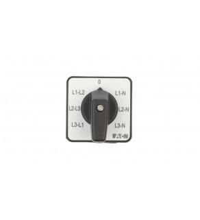 Przełącznik woltomierza 3xL-L i 3xL-N do wbudowania T0-3-8007/E 095813