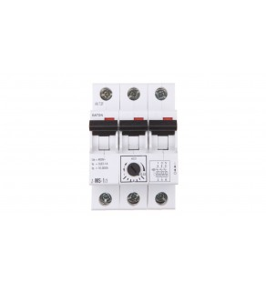 Wyłącznik silnikowy 3P 0,25kW 0,63-1A Z-MS-1,0/3 248406