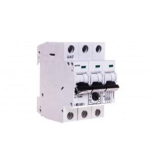 Wyłącznik silnikowy 3P 0,18kW 0,4-0,63A Z-MS-0,63/3 248405