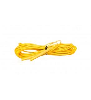 Przewód pomiarowy 10m żółty /wtyki bananowe/ WAPRZ010YEBB