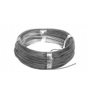 Przewód silikonowy SiF 1x0,75 czarny 300/500V 23401 /100m