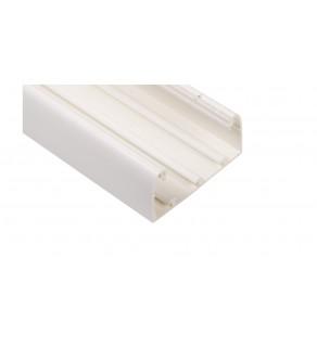 Kanał kablowy DLP 50x105 /bez pokrywy/ biały 010422 /2m