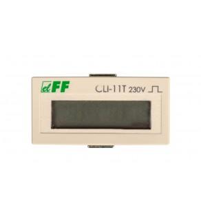 Licznik impulsów 110-240V AC/DC 1P 8A 8 cyfr panelowy CLI-11T