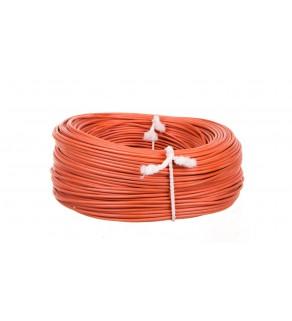 Przewód silikonowy OLFLEX HEAT 180 SiF 1x0,75 pomarańczowy /100m